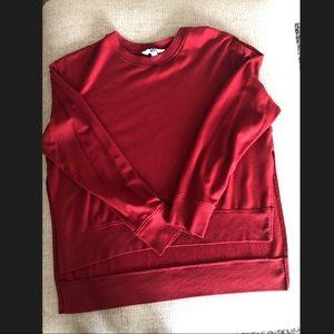 Super soft and cute red sweater